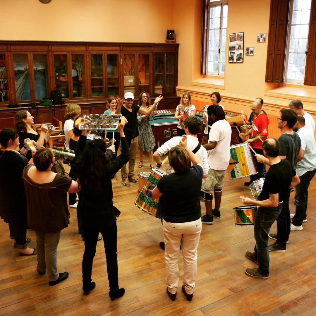 workshop percussions cole de samba par gabrielpolicarpo brasis