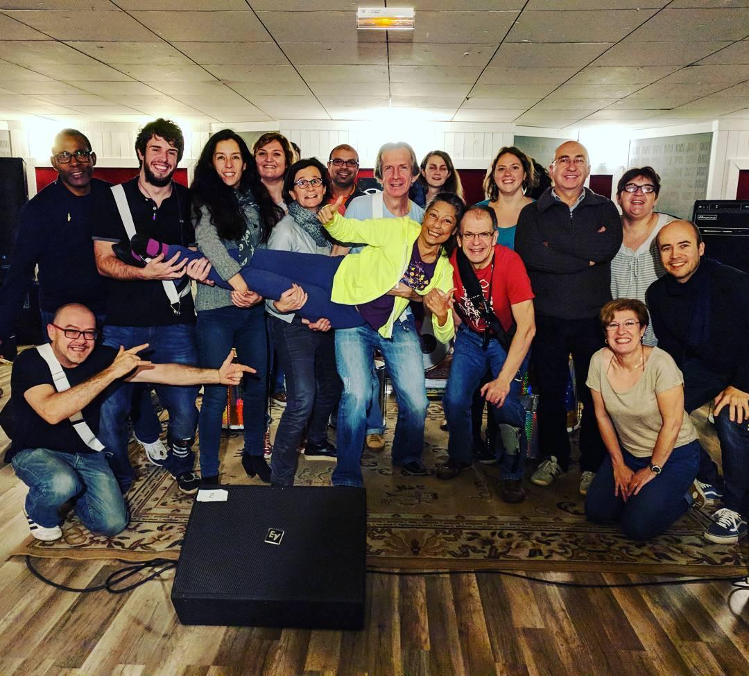 Joyeux anniversaire Verginia brasis batucada montrouge musiclive